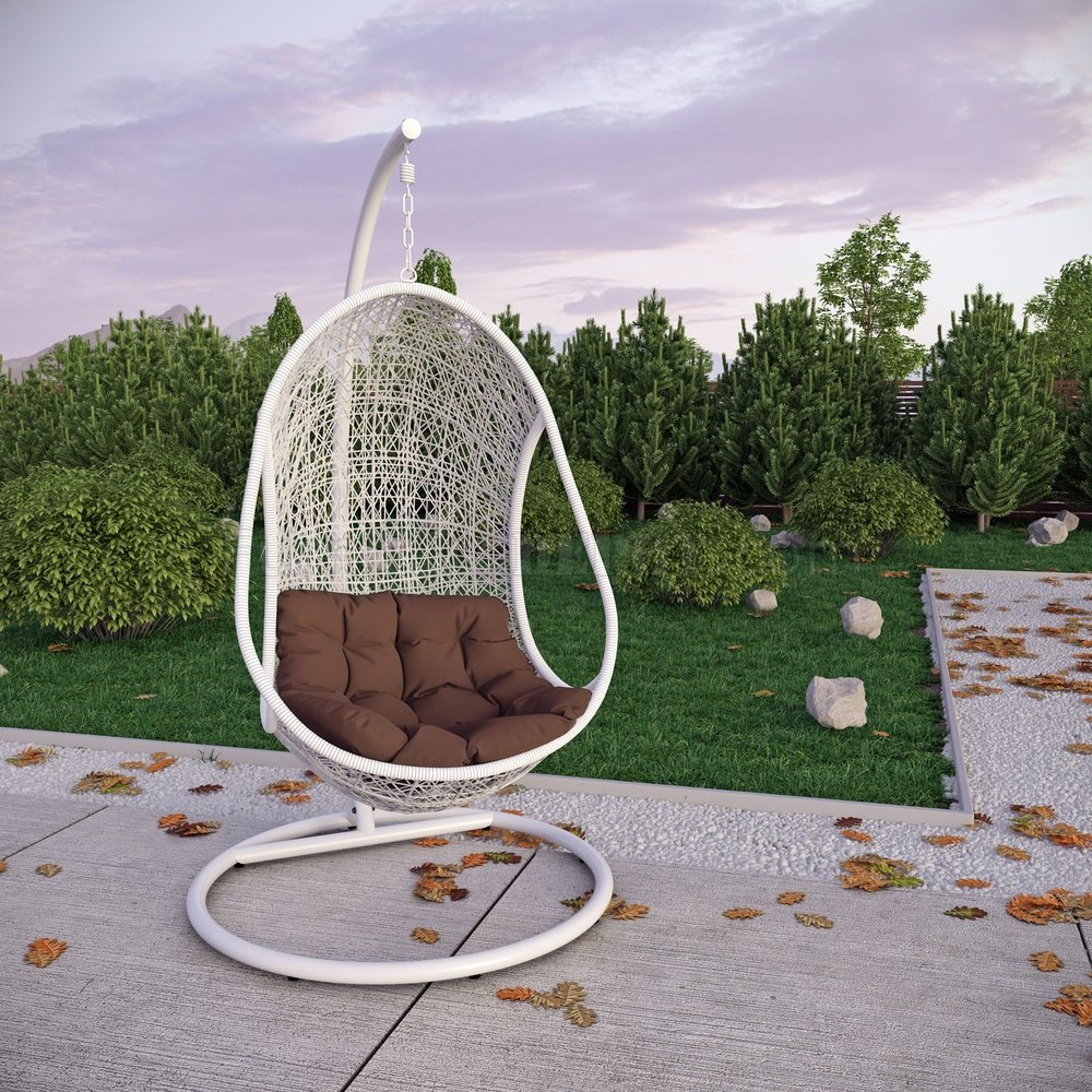 Bestow Swing Outdoor Patio Lounge Chair by Modway MWOUT Bestow Swing