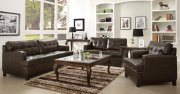 9995 Hodley Sofa by Homelegance in Brown Vinyl w/Options