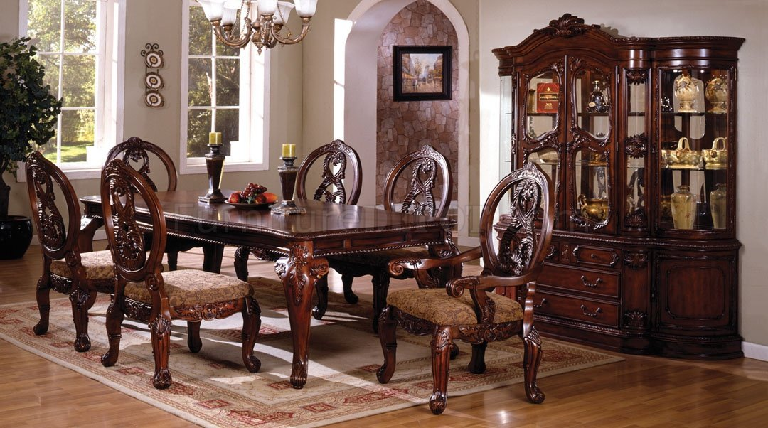 CM3845CH T Tuscany II Dining Table W Optional Items