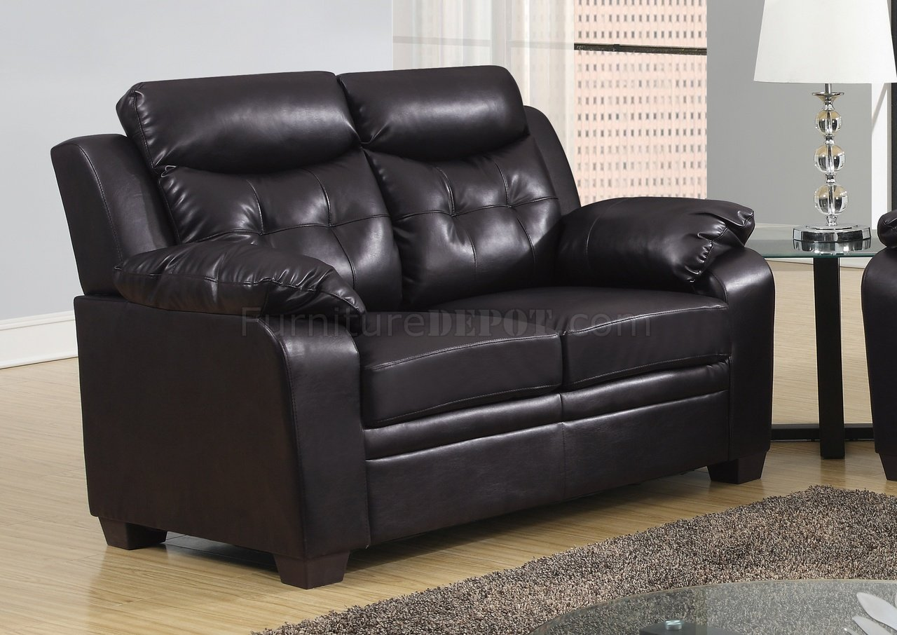 Rana Furniture U880016kd Sofa U0026 Loveseat In Chocolate Pu By Global Woptions 1 20 Photo Of