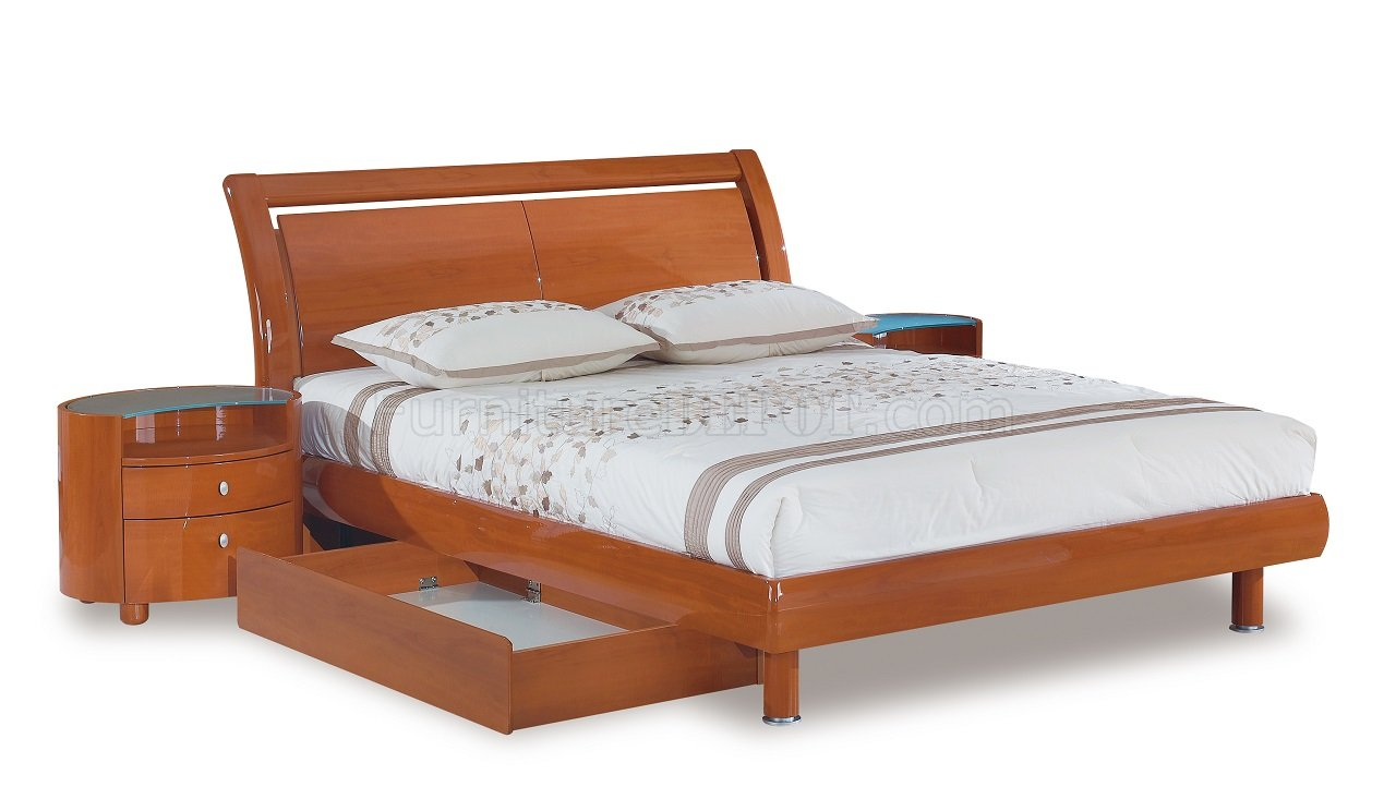 Emily Bedroom In Cherry By Global Furniture Usa W Options