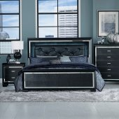 Allura Bedroom 1916BK In Black By Homelegance W/Options