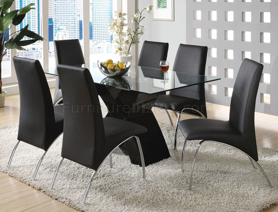 CM8370BK-T Wailoa Dining Table In Black W/Optional Chairs