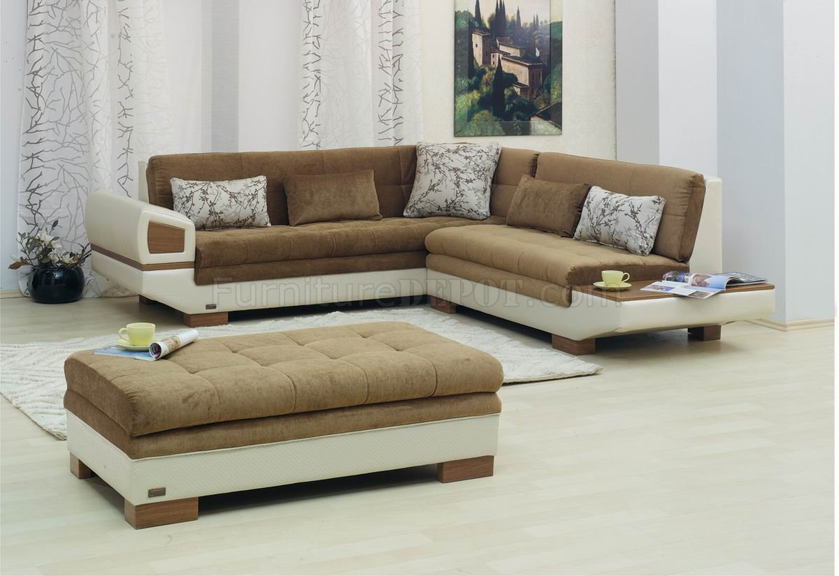 Vinyl Sectional Sofa Homelegance Vera Reclining Sectional
