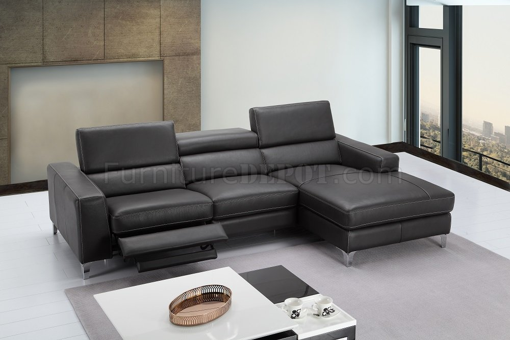 Remarkable Ariana Sectional Sofa In Premium Leather By Jm Ocoug Best Dining Table And Chair Ideas Images Ocougorg