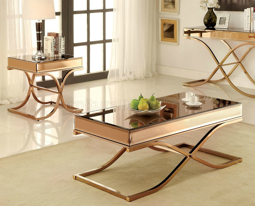 Sundance Cm4230 Coffee Table Amp 2 End Tables 3pc Set In Brass