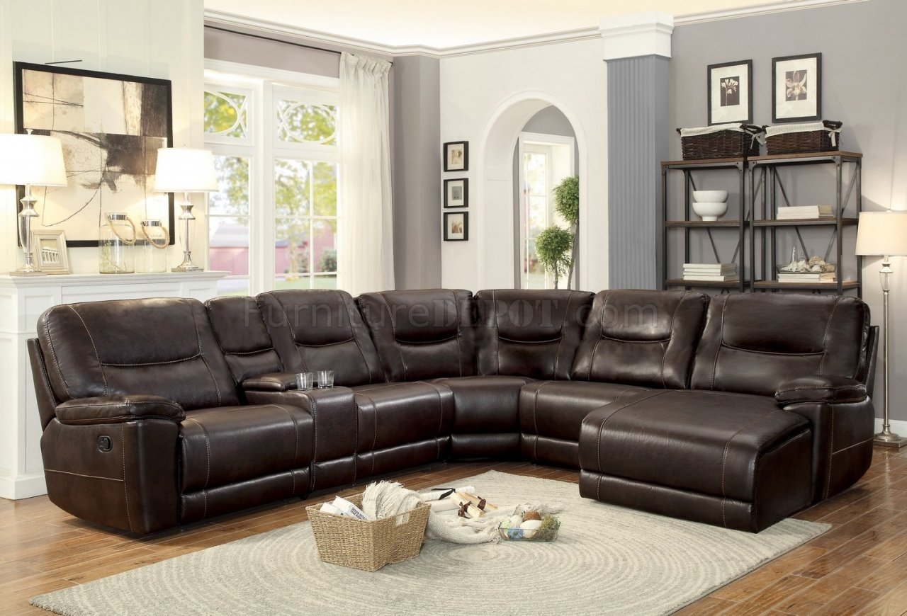 columbus motion sectional sofa 8490 6lcrr by homelegance. Black Bedroom Furniture Sets. Home Design Ideas