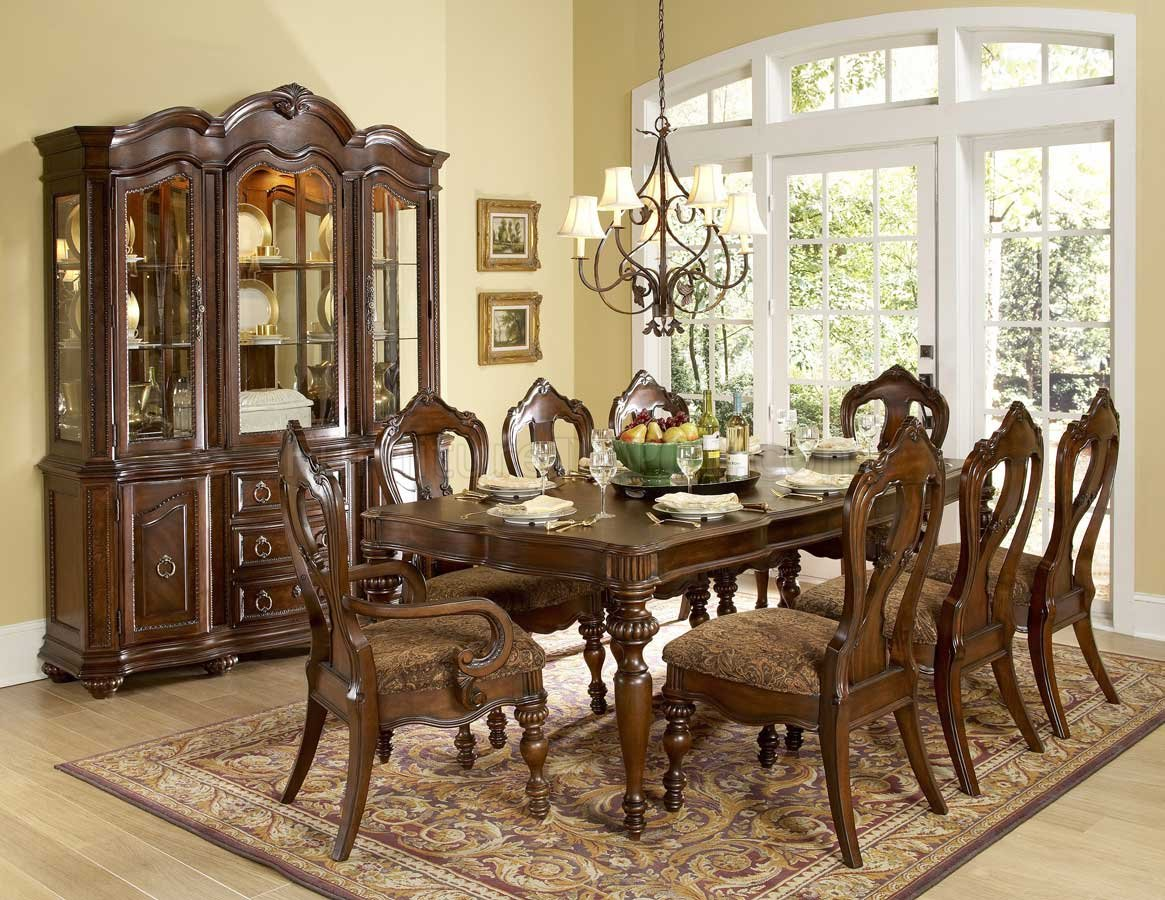 Homelegance Prenzo Round Dining Collection Price $227800 Custom Dining Room Set With Hutch Design Decoration