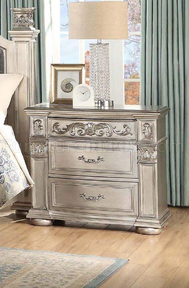 Platinum Bedroom Set 5Pc w/Options