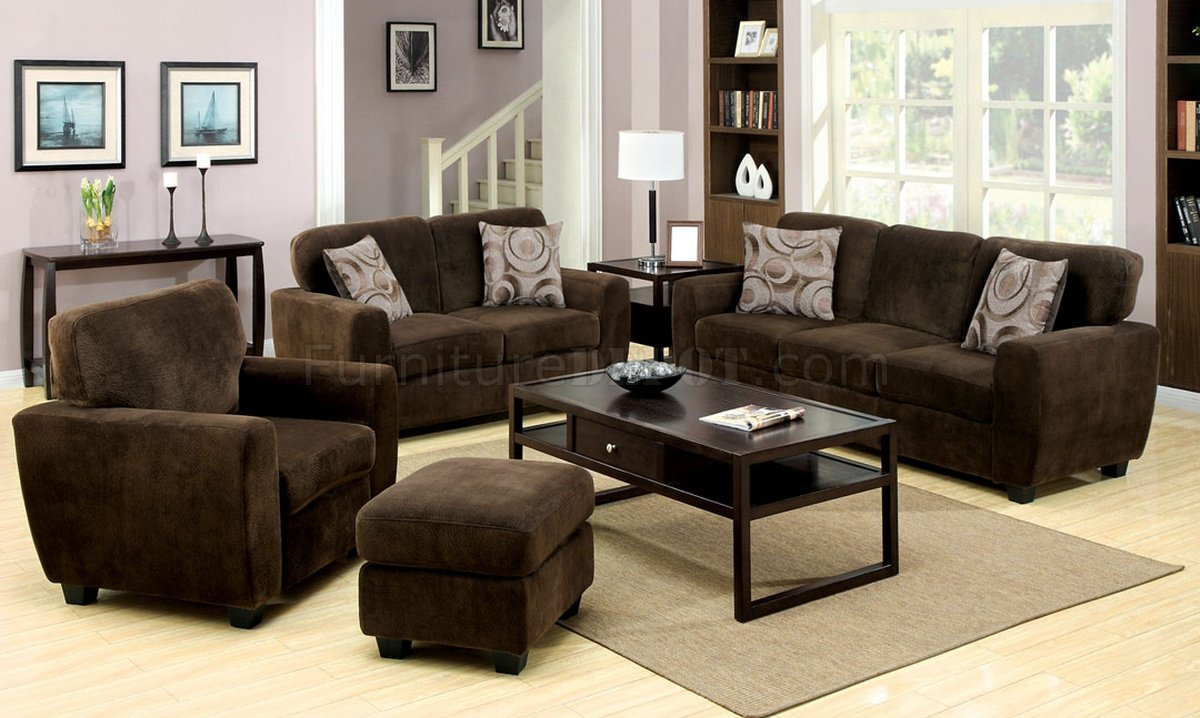Cm6558bro hudson sofa in espresso fabric w options for Sofa hudson