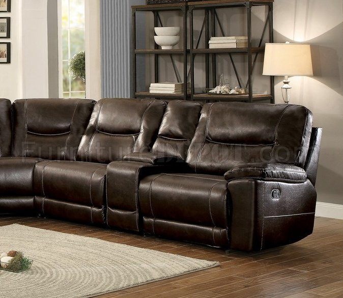 Columbus Motion Sectional Sofa 8490 8LRRR By Homelegance