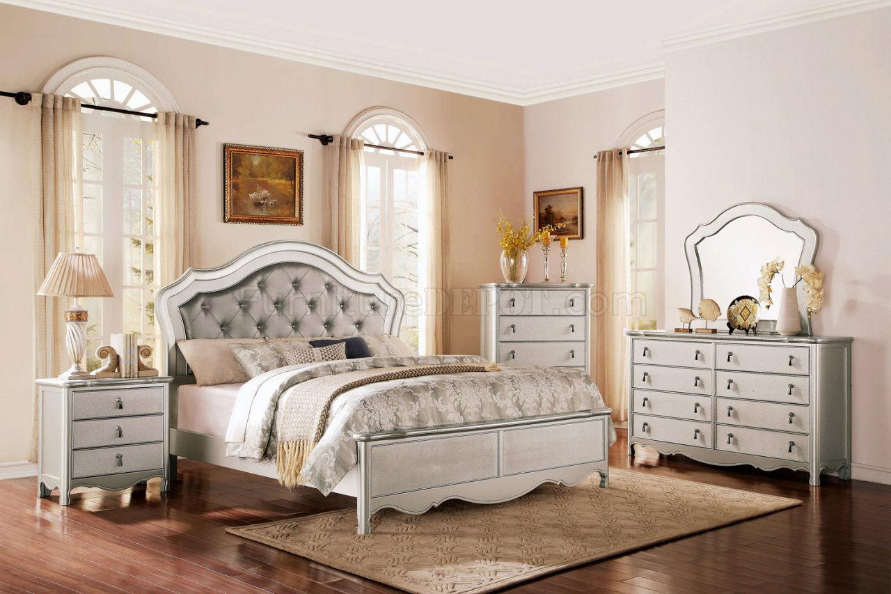 Toulouse Bedroom In Champagne By Homelegance WOptions - Toulouse bedroom furniture white