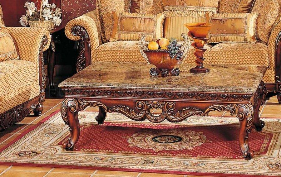 Catherine Cherry Sofa In Fabric W Optional Items