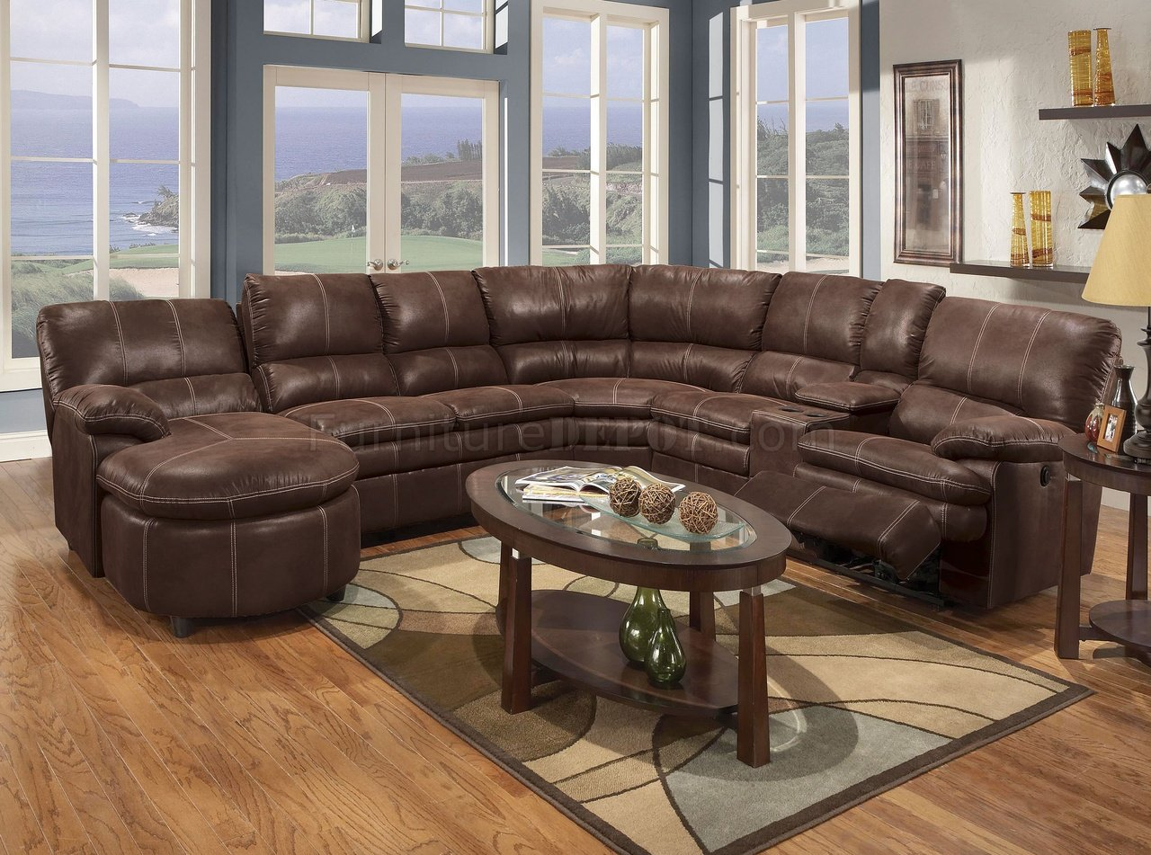 : brown reclining sectional sofa - islam-shia.org