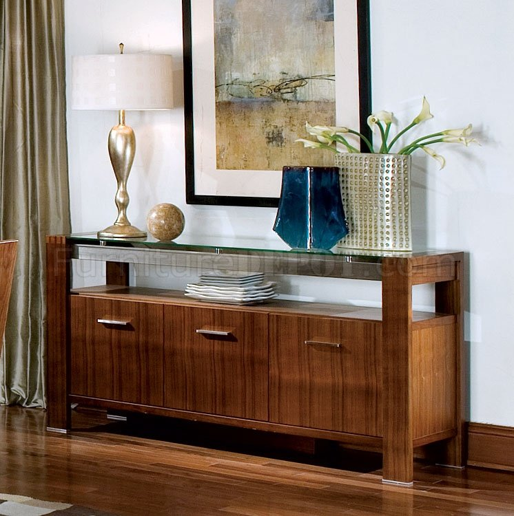 modern walnut finish dining room w glass top and wood chairs crds 43