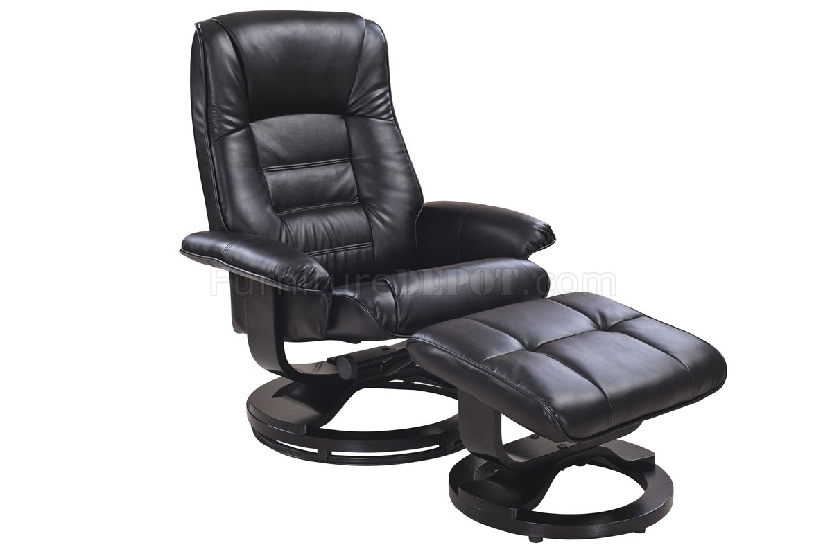 Palliser Leather Swivel Recliner and Ottoman Sets