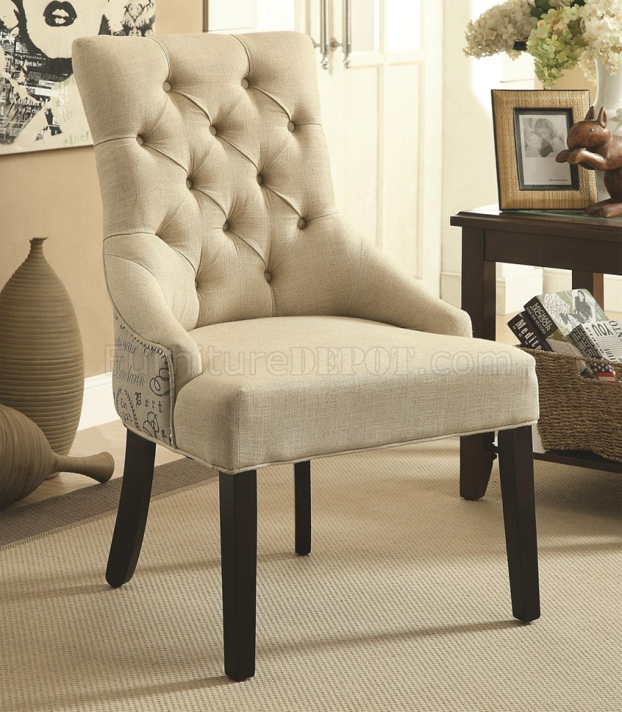 Perfect Beige Accent Chair Plans Free