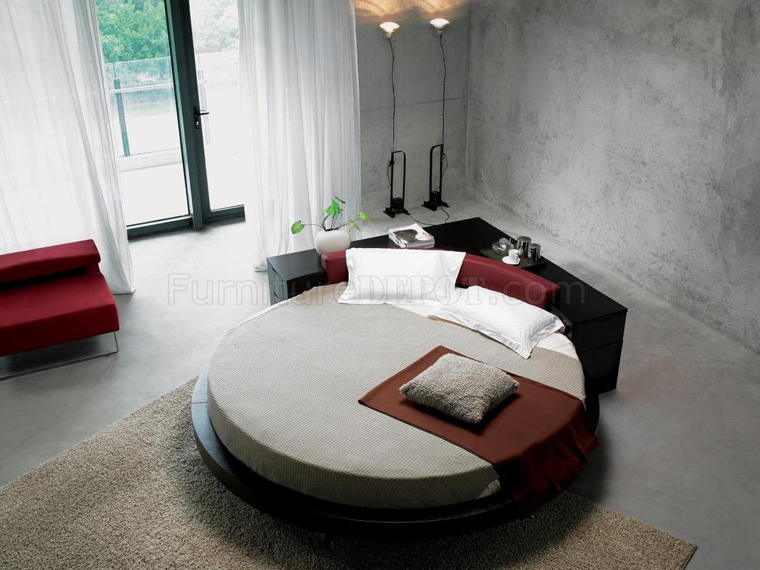 Ultra Modern Bed ultra modern round bed with corner drawer unitmodern round bed plato