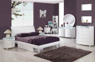 Bedroom Furniture  Diego on Bedroom Furniture Classic White Finish